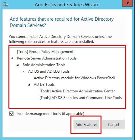 Active directory installation on windows server 2012 r2