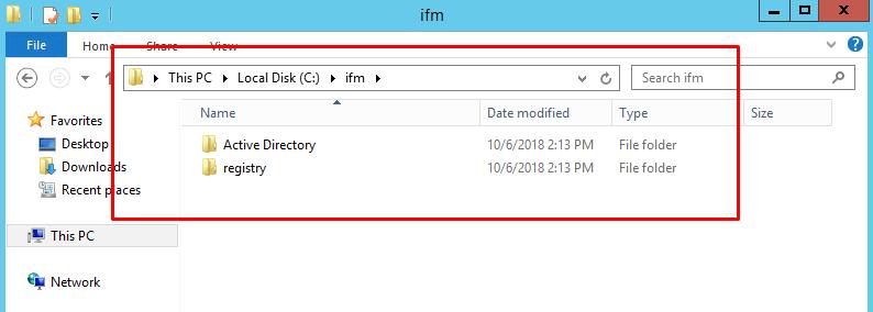 IFM image location