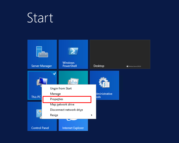 Windows Server 2012 – How to Join a Domain
